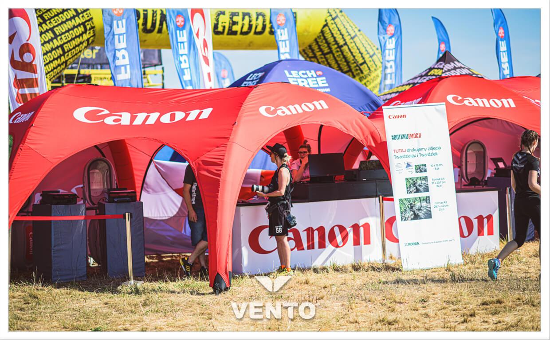 Namiot reklamowy gazoszczelny VENTO SIX